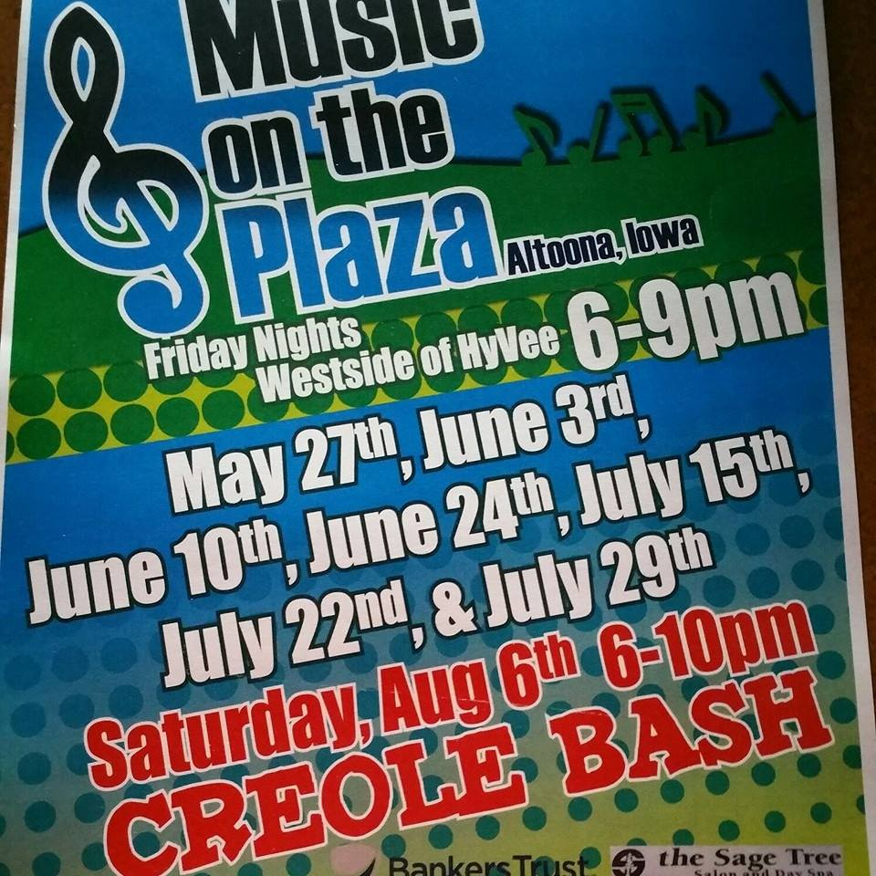 Music on the plaza Friday nights