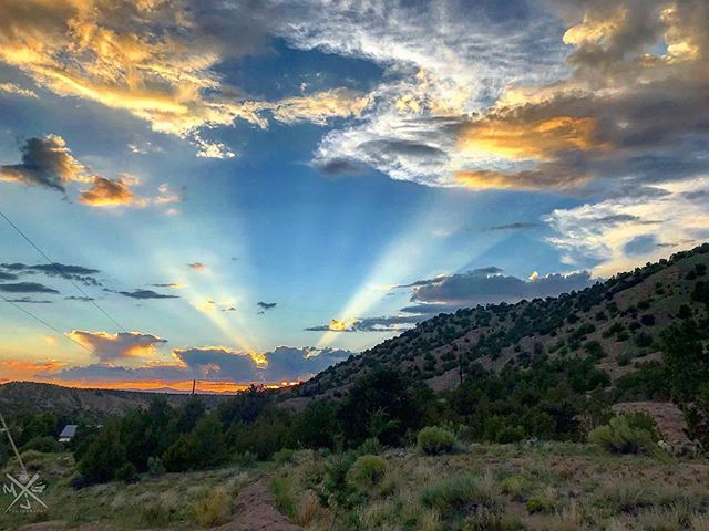 Beautiful NM skies! 📷 @mjgphoto505