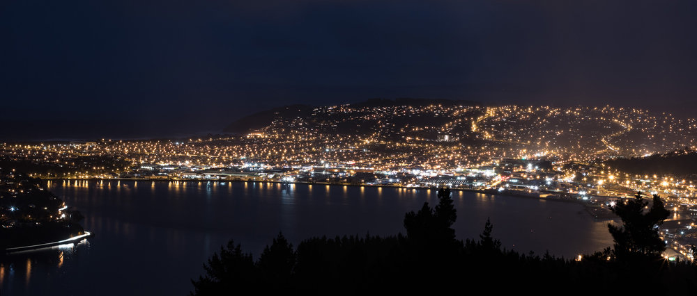 Signal Hill always shows me a real good view.
