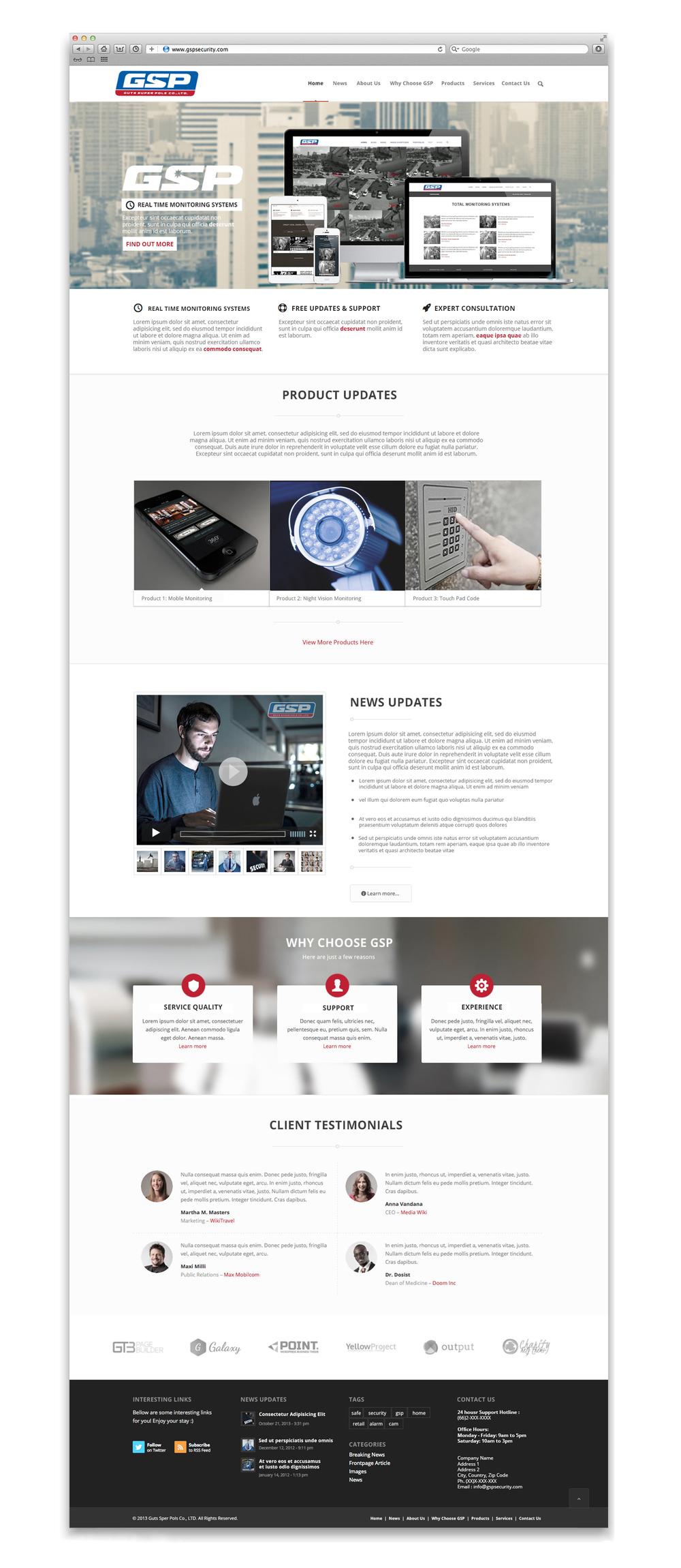 GSP homepage