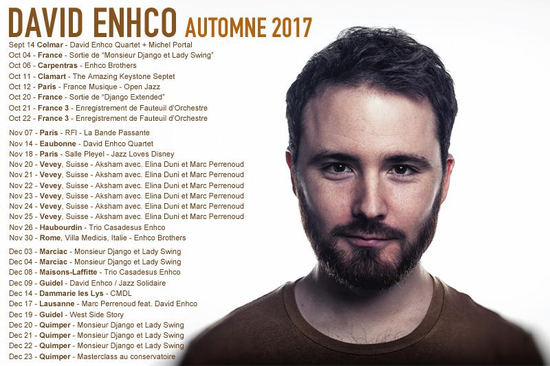 tournée - automne 2017