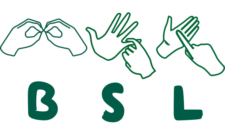 british sign language hands