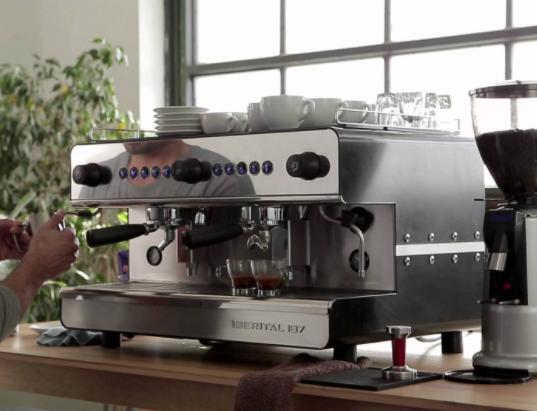 Iberital espresso machine