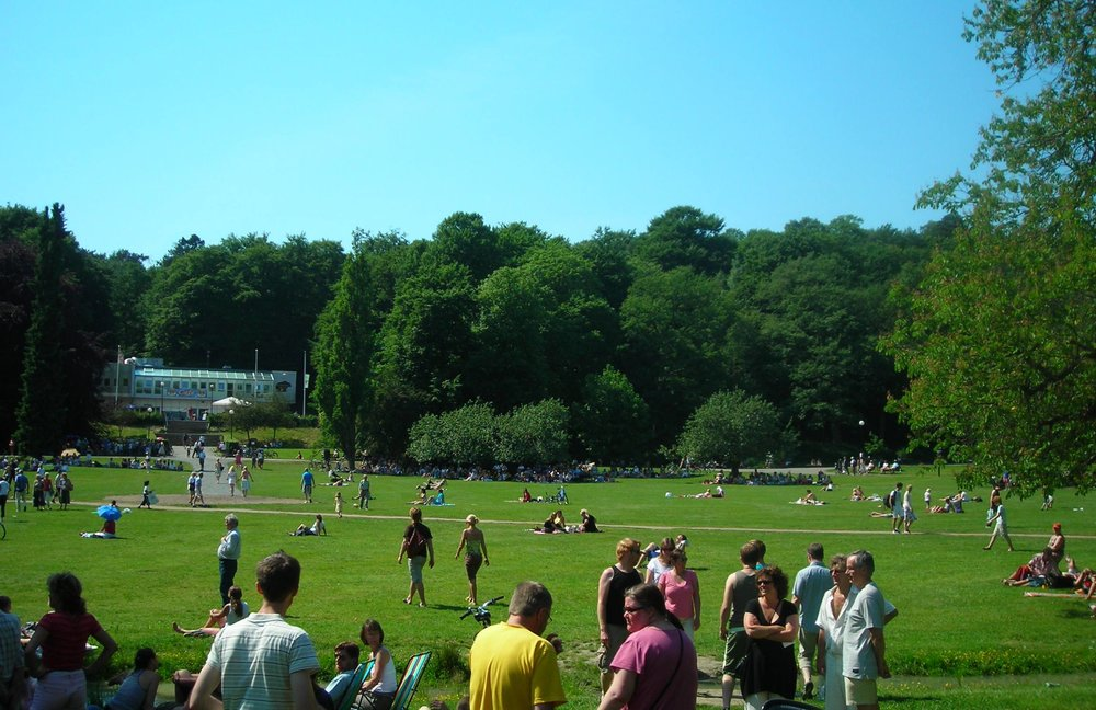 Slottskogen park in Gothenburg
