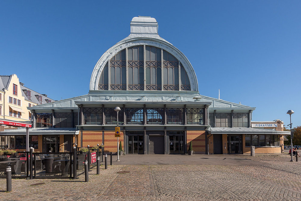 Stora Saluhallen, on Kungstorget, is Gothenburg's largest indoor market.