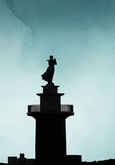 This iconic Gothenburg statue was the inspiration for Stigberg Immersive's 'The Sea Widow' – an award winning production at the Gothenburg Fringe Festival 2018. Image used with kind permission of  Bag of Plenty .