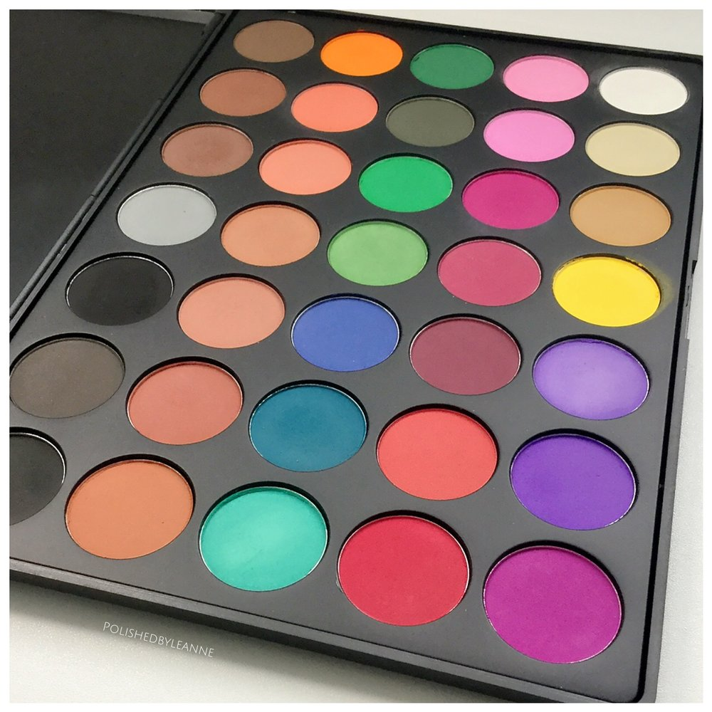 Morphe 35c Matte Colour Palette
