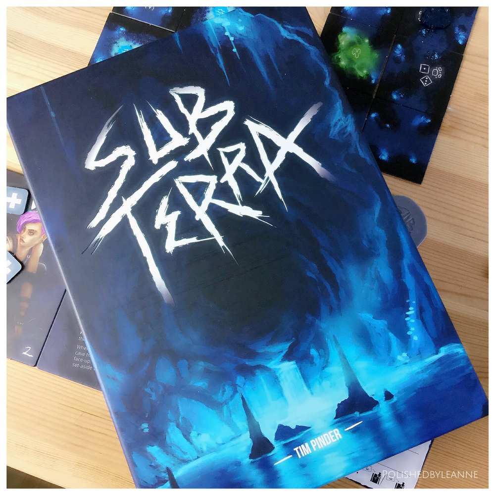 Sub Terra Board Game Review