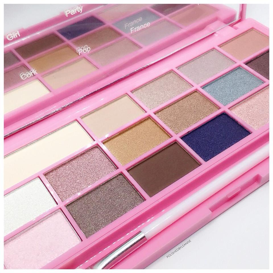 Pink Fizz Eyeshadow Palette