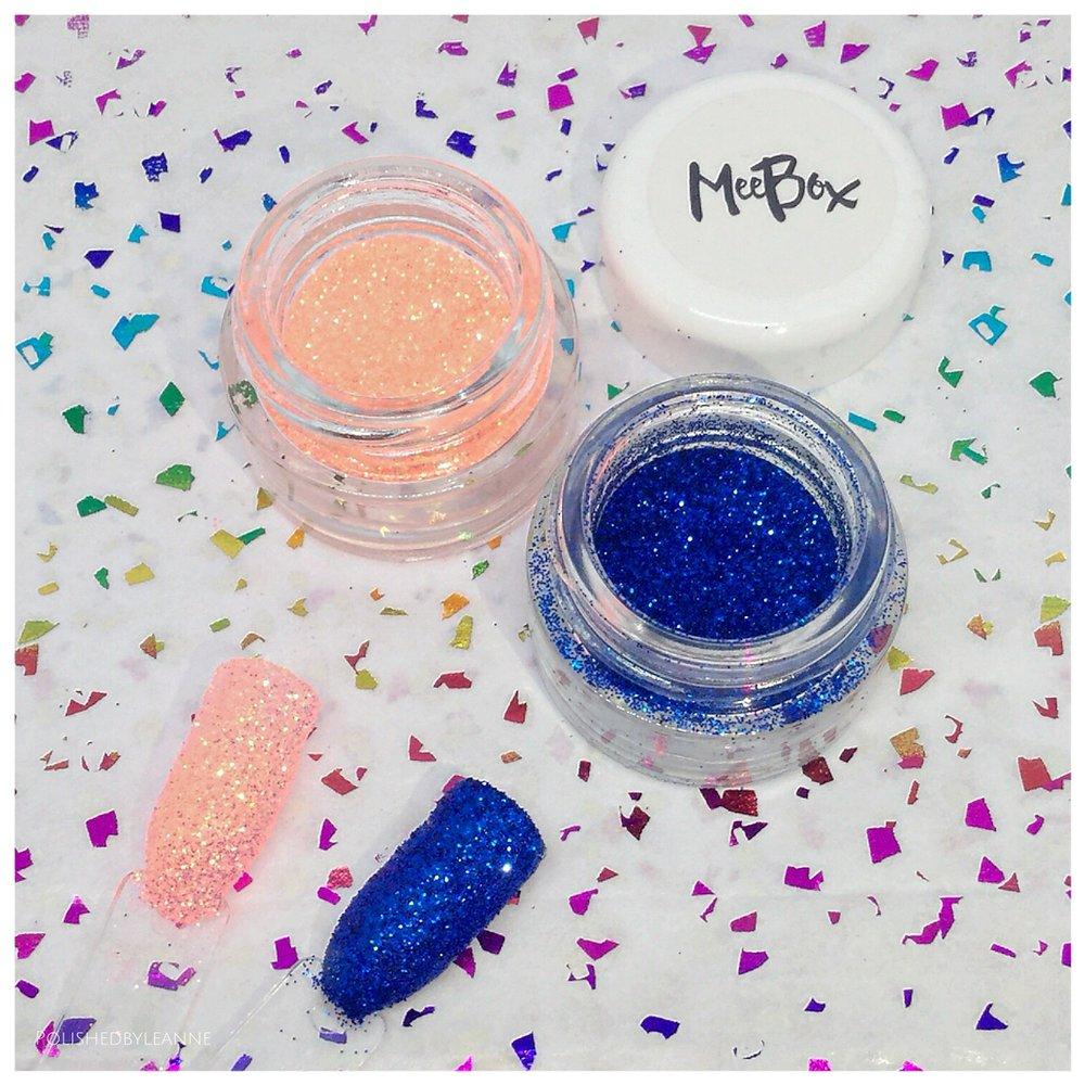 Meebox glitters