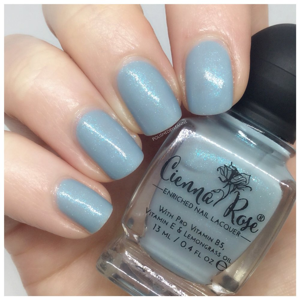 New from Cienna Rose Beauty — polished by leanne