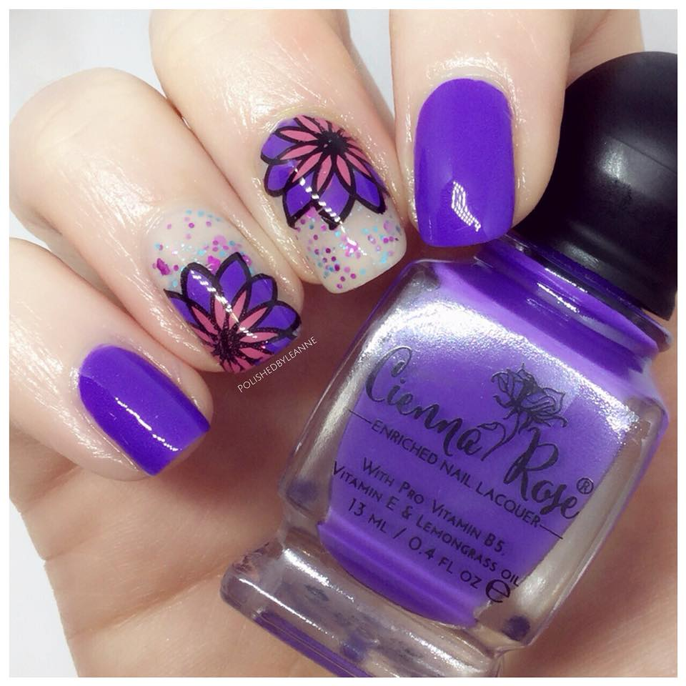 Reverse Stamping Feat Cienna Rose Beauty Polished By Leanne