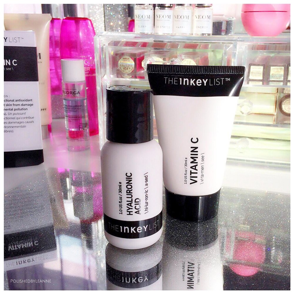 The Inkey List: Hyaluronic Acid and Vitamin C — Polished by Leanne