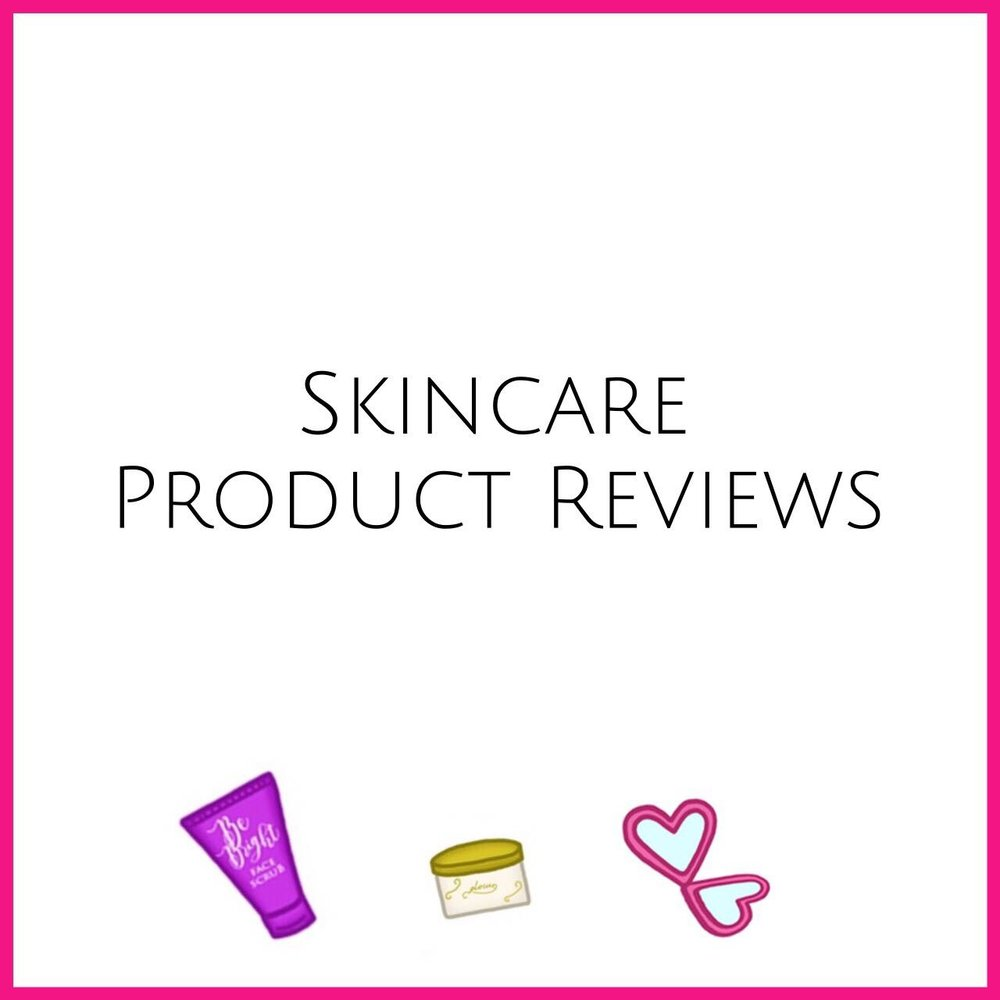 Skincare Product Reviews