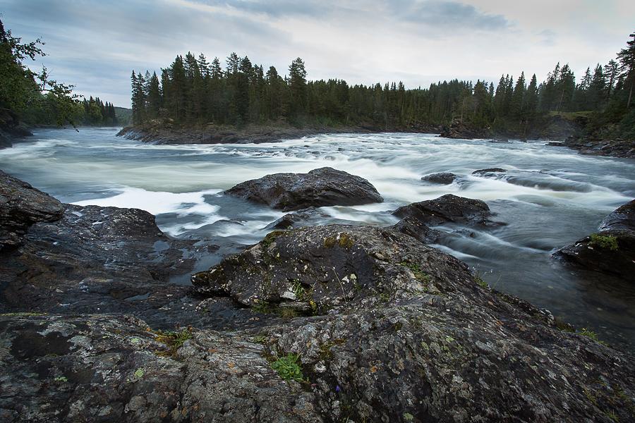 Vid Ristafallet,Jämtland