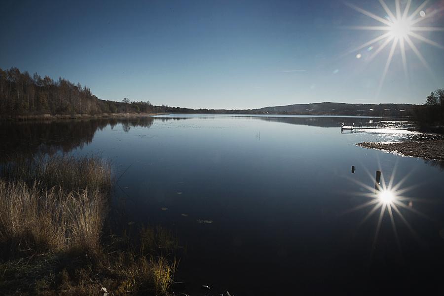 Höglandssjön tidig morgon