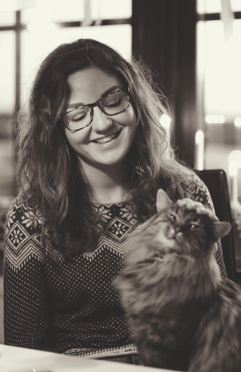 Rebecca och katten Findus