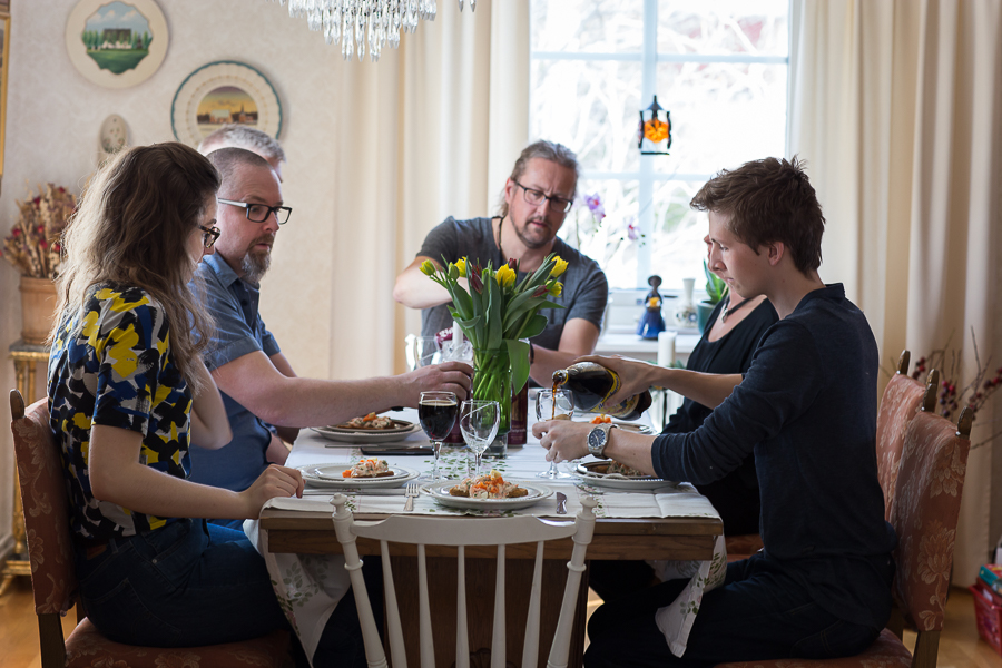 påsk-middag