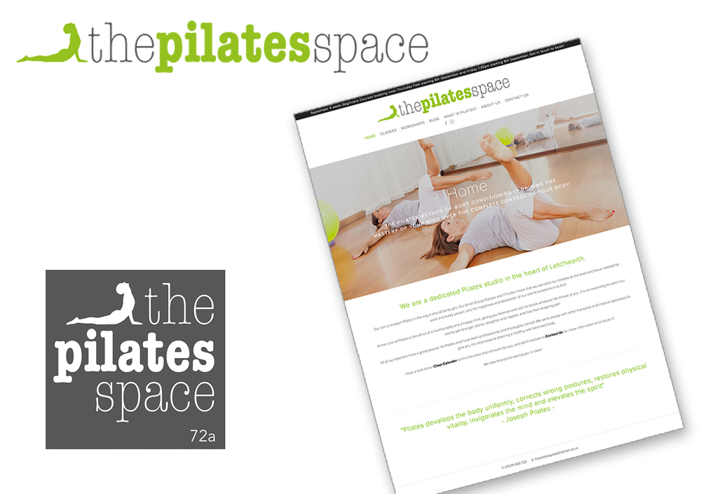 The Pilates Space Website & Logo