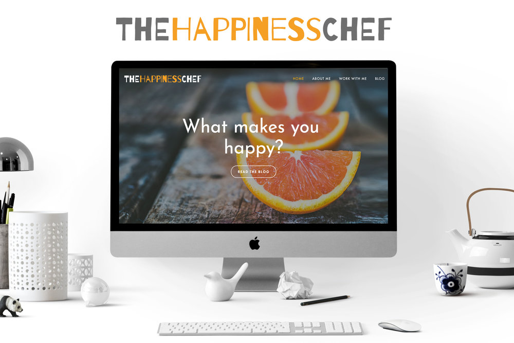 The Happiness Chef Website & Logo