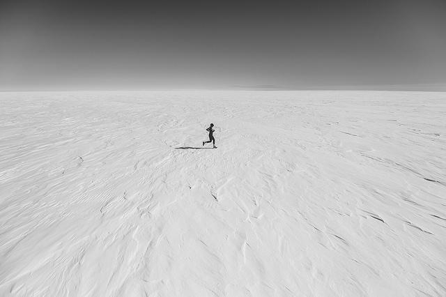 """Think warm thoughts,"" Kelvin said. (photography: Kelvin Trautman)"
