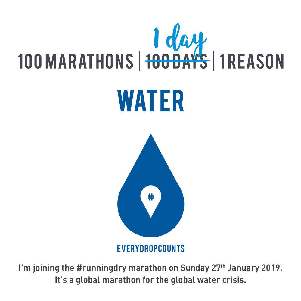 100 marathons in 1 day