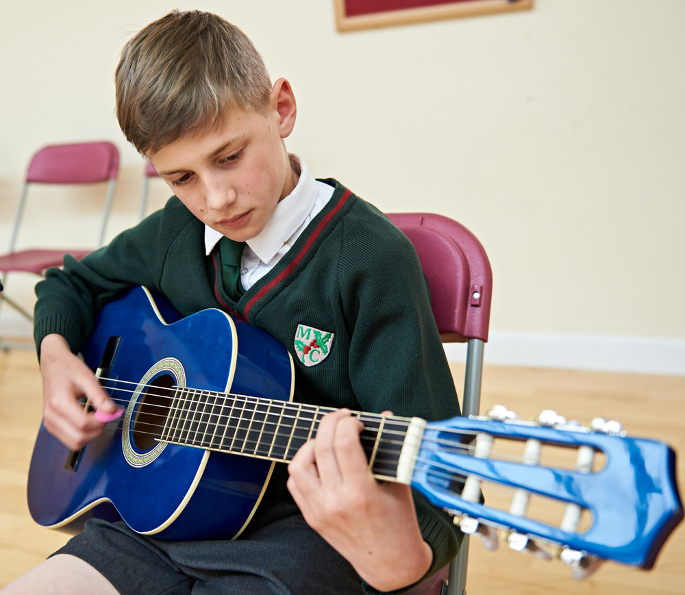 Maldon Court Prep school - Music lessons - Learning - School photography - Mitchell-Armstrong Photography