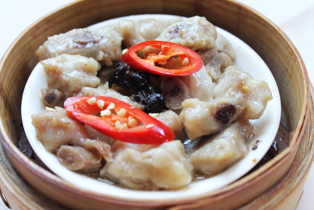 豉汁蒸排骨  Spare Ribs in Black Bean Sauce  £3.20