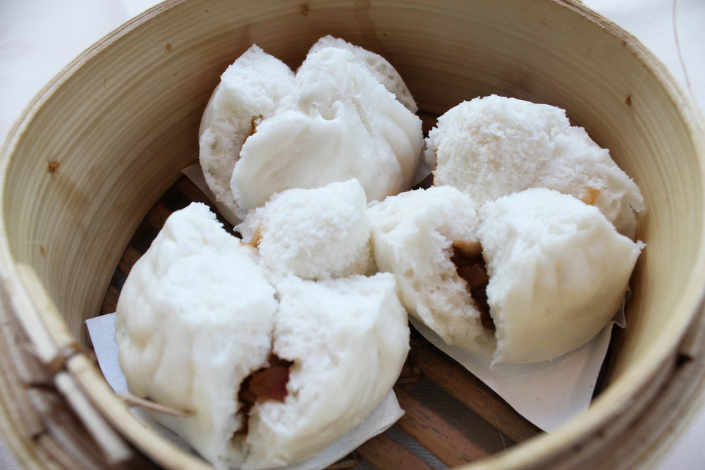 蜜汁叉烧包  Honey BBQ Pork Buns  £3.20