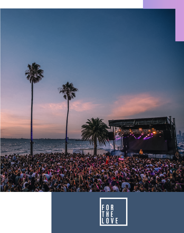 FOR THE LOVE - WIN 2 x VIP tickets to see RÜFÜS DU SOL at For The Love under the palms as the sun sets.+ Return flights within Australia, 5 star accommodation for 2 nights & Transfers to and from the event.@forthelove#forthelove