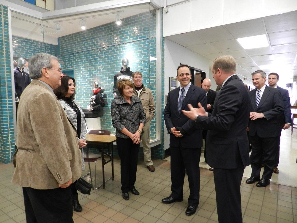 Governor Bevin Visits HCC