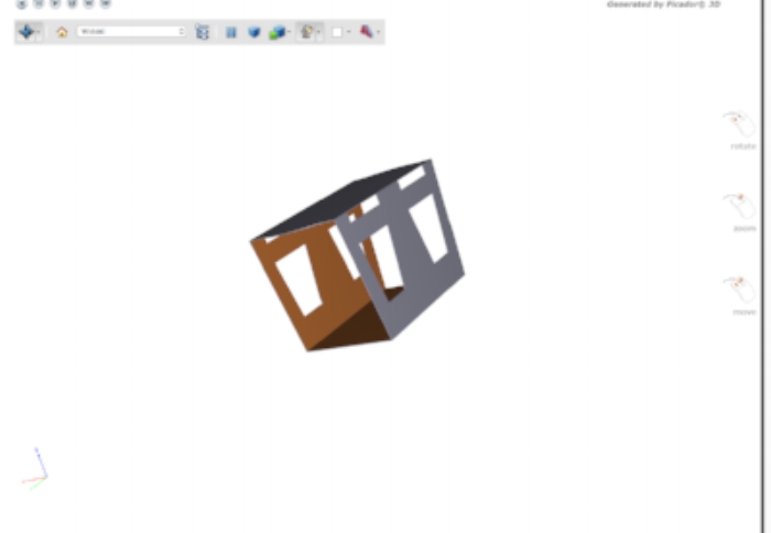 Wizualizacja 3 D projektu