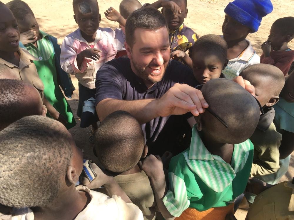 Daniel Sellers in Zimbabwe, Africa