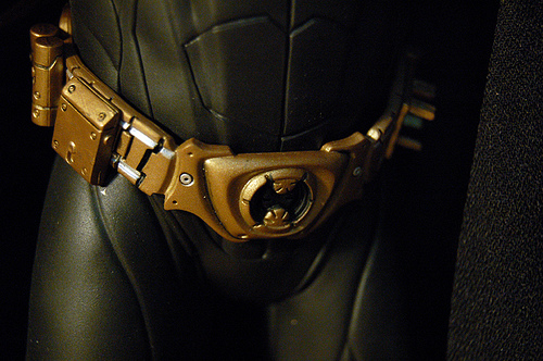 Bat-Man's utility belt