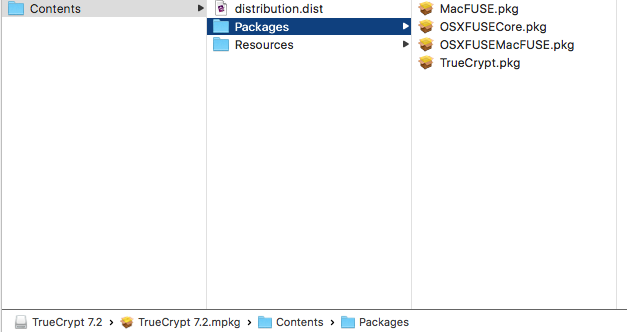 Using TrueCrypt on macOS 10 12 for Amazon Web Services Exporting