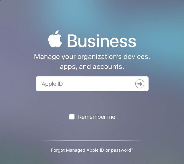 Apple Business Manager Daniel Sellers