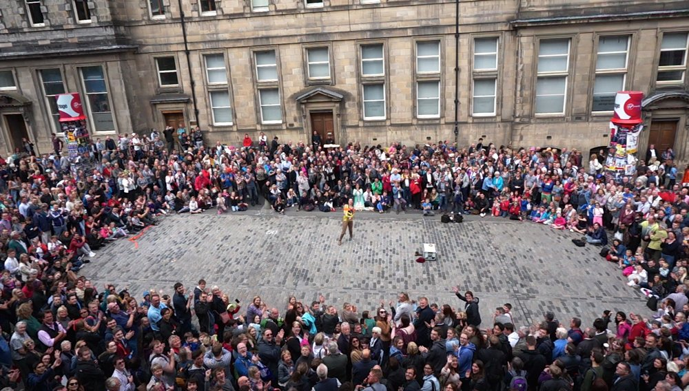 Edinburgh Festival Fringe, Photo from video