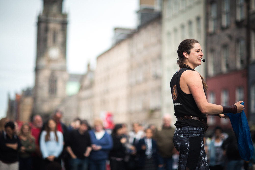 Ediburgh Festival Fringe, Scotland