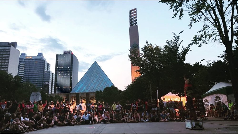 Edmonton International Street Performers Festival, Canada