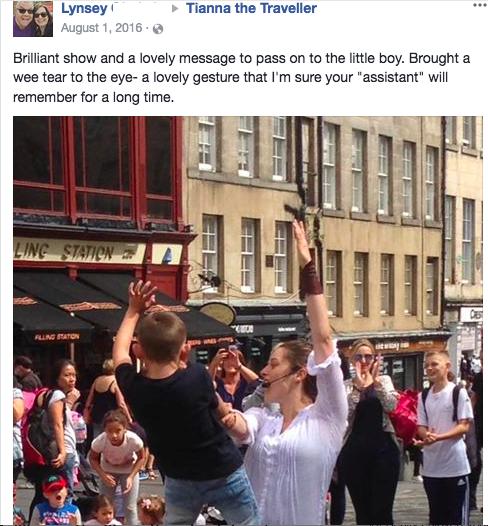 - Lynsey, Edinburgh