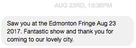 - Sharon, Edmonton, Canada