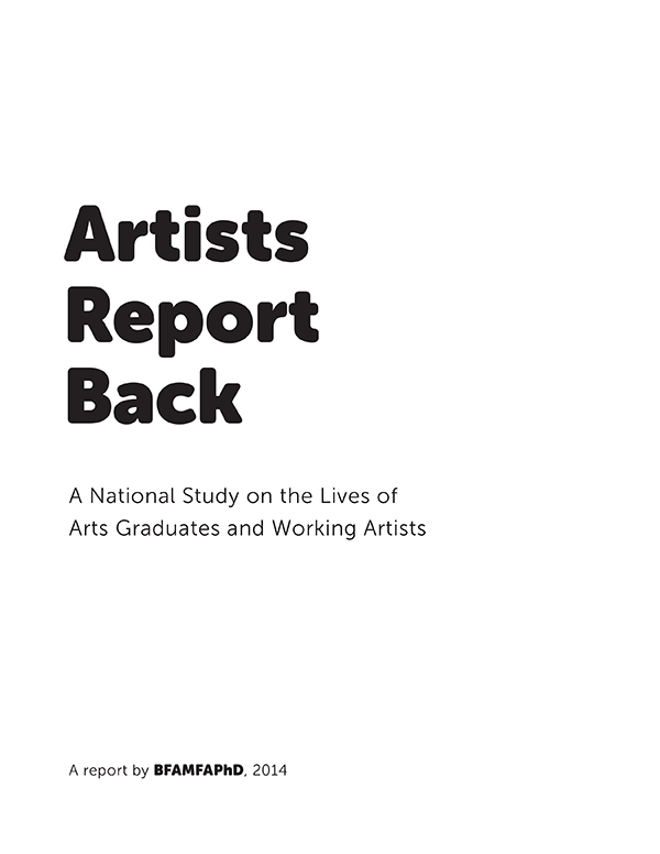 Artists Report Back (2013)
