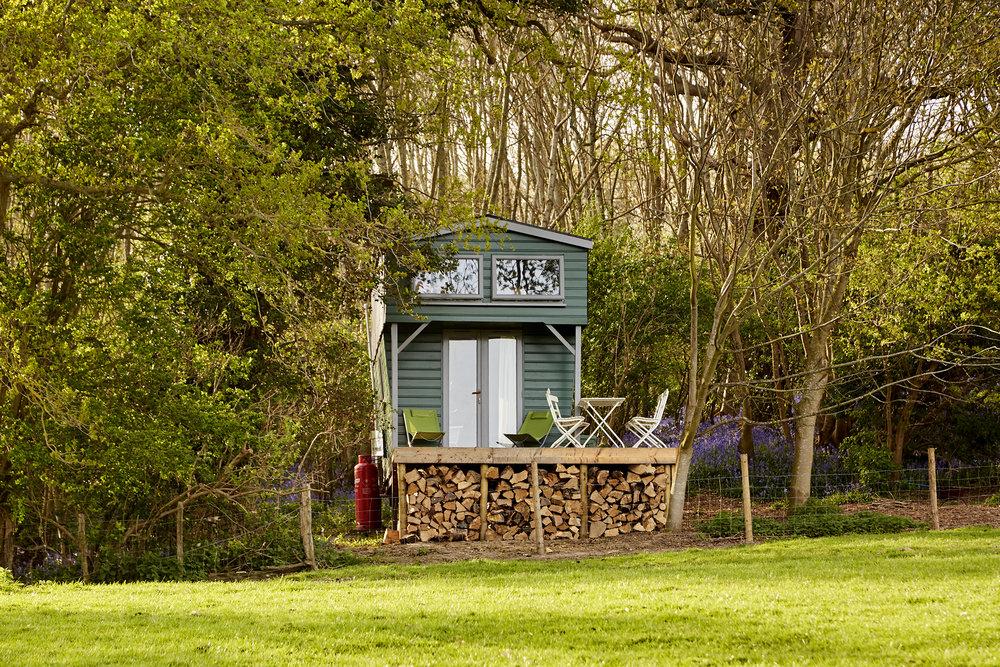 Shepherds Hut Camping Rye East Sussex