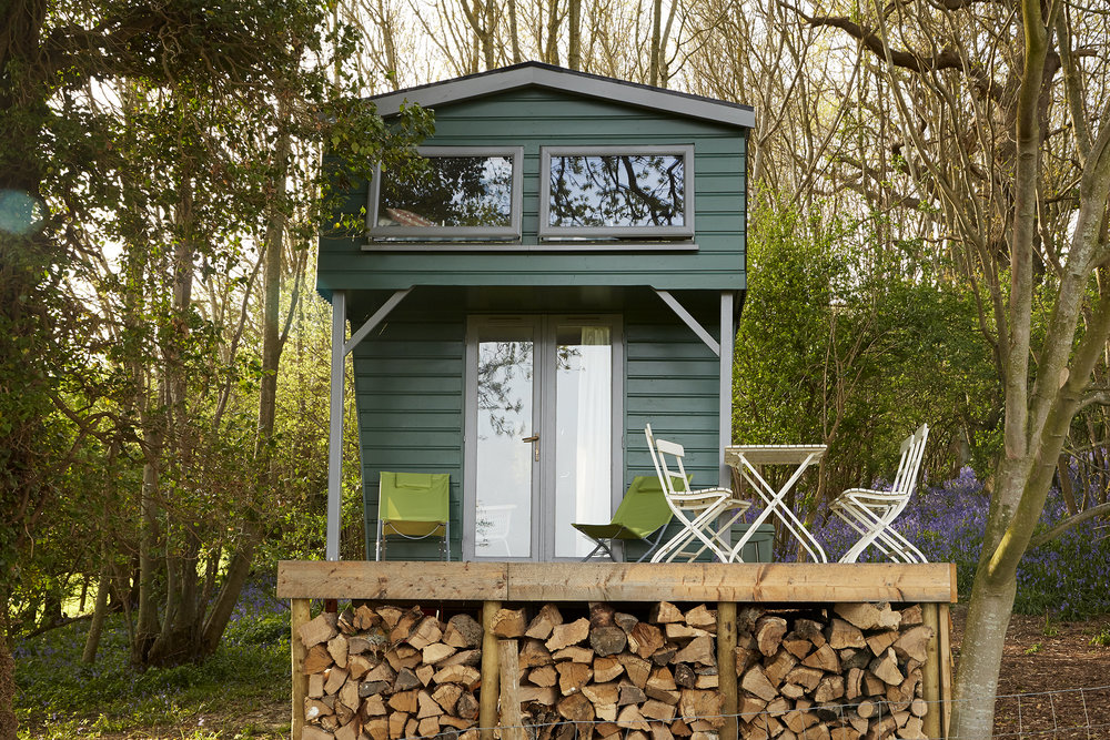 Shepherds Hut Front View Rye East Sussex