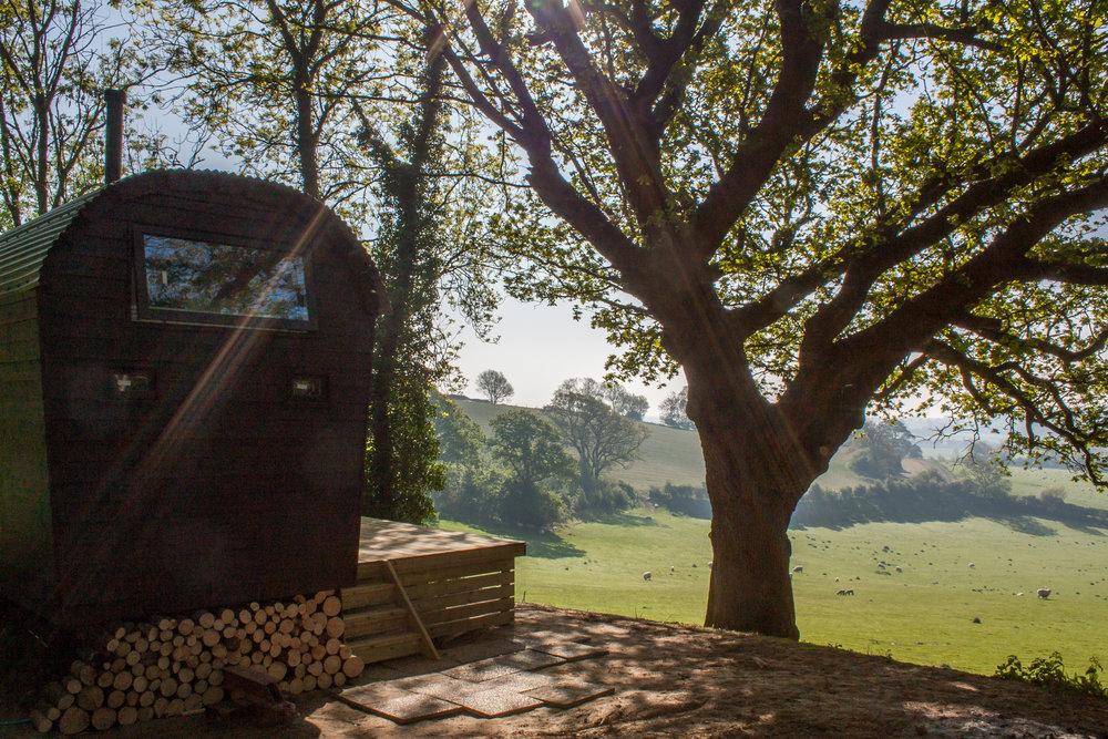 Shepherds Hut Summers Rye East Sussex