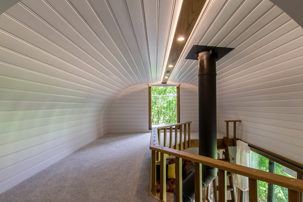 Shepherds Hut Interior Design Rye East Sussex