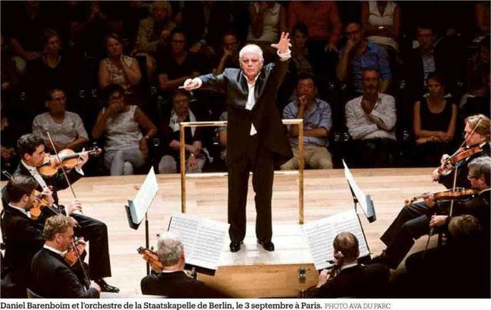 Daniel Barenboim:«Avec Bruckner, j'ai le sentiment de traverser les siècle