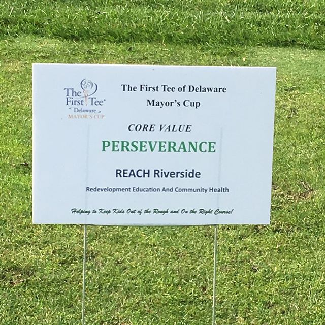 As we work with our Riverside neighbors grow resilience in the community, we proudly represented the value of perseverance in support of the Mayor's Cup golf tournament benefiting the First Tee junior golf program!