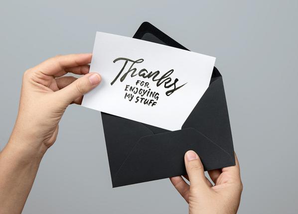 card design mockup