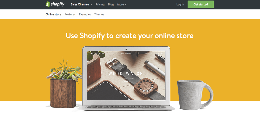 shopify online store small business